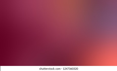 Gradient with Camelot, Red, Mandy color. Beautiful modern blurred and defocused background for banner or presentation.