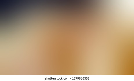 Gradient with Cameo, Brown, Leather color. Ambiguous and foggy blurred background with defocused image. Template for advertising and commercials.