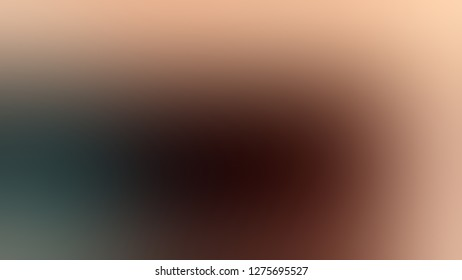Gradient with Cameo, Brown, Seal Black color. Gaussian drawing as a work of art. Background with abstract style. Template for newsletter.