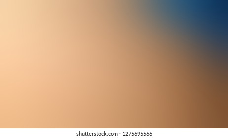 Gradient with Cameo, Brown, Spicy Mix color. Bizarre and bitmap blurred background with abstract style. Template for newsletter.