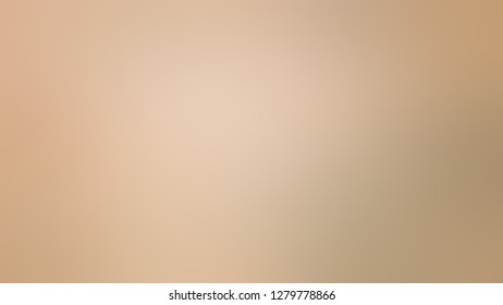 Gradient with Cashmere, Brown color. Beautiful raster blurred background with smooth change of colors and shades. Template for canvas or card.