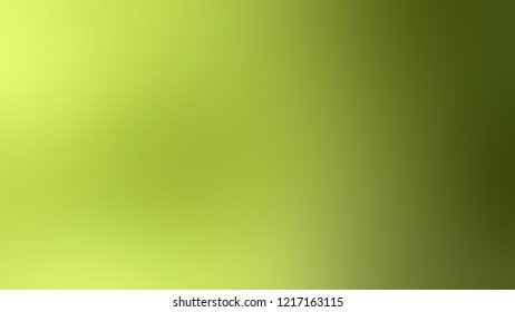 Gradient with Celery, Green, Army color. Simple and modern blurred background with the deterioration of the color for your ad.