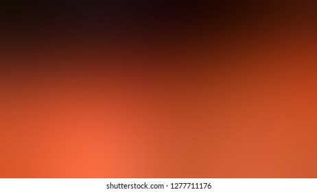 Gradient with Chilean Fire, Orange, Rustic Red color. Simplicity and purity. Blurred background with smooth change of colors and shades. A blend of shades and tones.