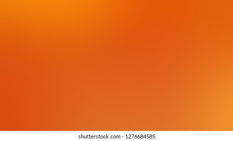 Gradient with Chocolate, Brown, Mango Tango, Orange color. Bizarre and bitmap blurred background with smooth change of colors and shades. Template and wallpaper to the screen of a cellphone.