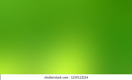 Gradient with Christi, Green, La Palma color. Clean very simple abstract background for banner or presentation. Template with changing shades and with space for text.