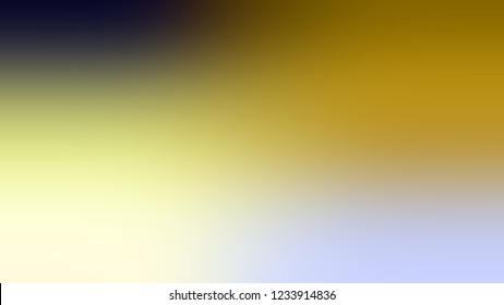 Gradient with Chrome White, Grey, Medium Goldenrod, Yellow color. Blend simple defocused and blurred background with the transition colors for advertising.