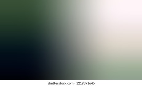 Gradient with Chrome White, Grey, Pewter, Green color. Classic simple smeared background for websites and mobile apps.
