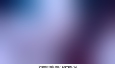 Gradient with Cold Purple, Violet, Chambray, Blue color. Blend simple defocused background for ads or commercials.