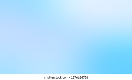 Gradient with Columbia Blue, Pattens color. Artistic and decorative background with smooth color degradation. Template with blank area for your text or advertising.