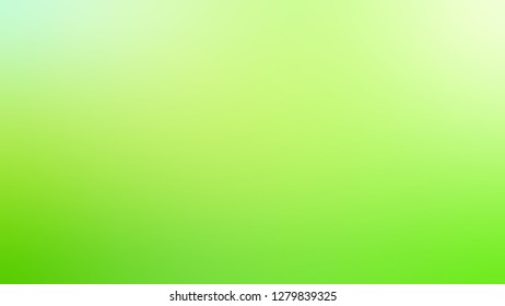 Gradient with Conifer, Green, Sulu color. Classic simple defocused backdrop with color transition.