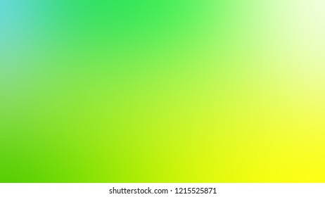Gradient with Conifer, Green, Yellow color. Awesome and simple defocused and blurred backdrop with the transition colors for advertising.