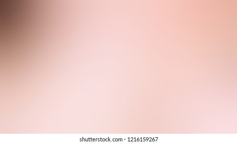 Gradient with Coral Candy, Pink, Quicksand, Brown color. Simple defocused backdrop with color transition.