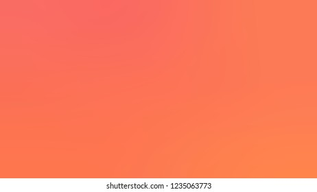 Gradient with Coral, Orange, Bittersweet color. Blank and awesome simple defocused and blurred background with the transition colors for advertising.