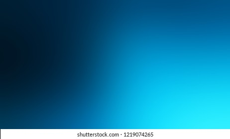 Gradient with Dark Cerulean, Blue, Deep Sky color. Classic simple blurred background with smooth transition of shades.