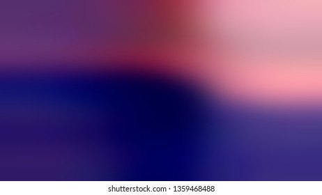 Gradient with Dark Navy Blue, Violet, Purple color. Artistic and decorative blurred background without focus. Wallpaper to the screen of a mobile.