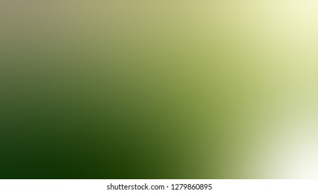 Gradient with Dark Olive Green, Mint Julep, Brown color. Very simple and modern blurred background with smooth color degradation. Template for web page or site.