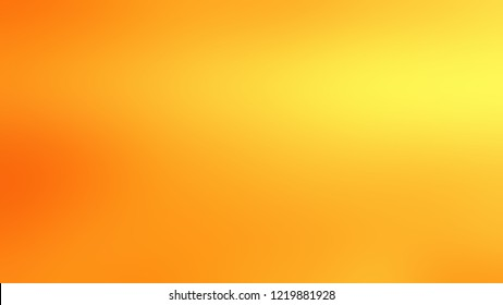 Gradient with Dark Tangerine, Orange, Gorse, Yellow color. Beautiful and awesome blurred backdrop with smooth color transition.