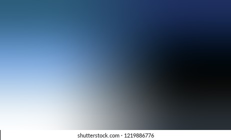 Gradient with East Bay, Blue, Solitude color. Blend modern blurred background as a artwork.