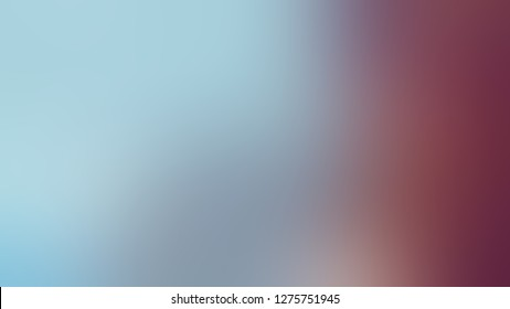 Gradient with Echo Blue, Camelot, Red color. Artistic and decorative blurred background with abstract style. Template for journal or book cover.