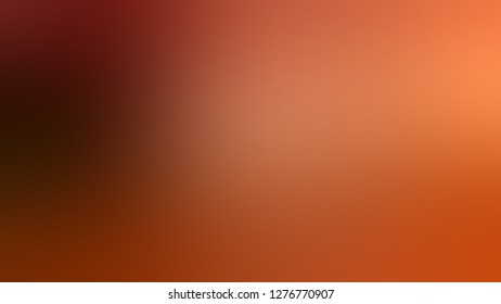 Gradient with Ecstasy, Orange, Red Oxide color. Ambiguous backdrop with a smooth transition of colors. Template with changing shades and with place for text.