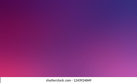 Gradient with Eminence, Violet, Palatinate Purple color. Simple blurred background with smooth transition of colors for banner. Template with changing shades and with place for text.
