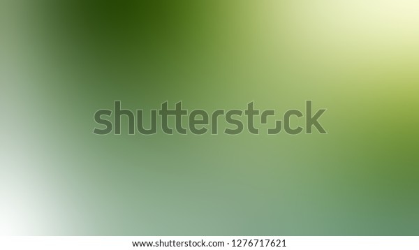 Gradient Envy Green Asparagus Color Simplicity Stock Illustration 1276717621
