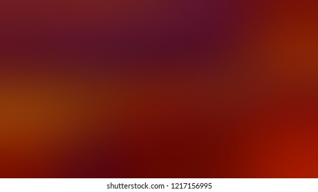 Gradient with Falu Red color. Beautiful simple defocused background for ads or commercials.
