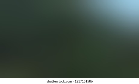 Gradient with Firefly, Green color. Simple defocused backdrop with color transition. The template for the banner or presentation.