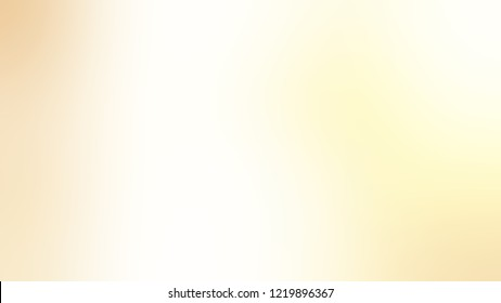 Gradient with Floral White, Blanched Almond, Brown color. Blank simple modern blurred background with color degradation.