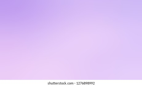 Gradient with Fog, Violet, Wisteria color. Bizarre and bitmap blurred background with colorful shades. Template for canvas or card.