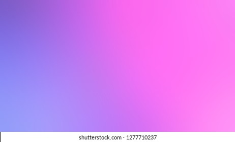 Gradient with Fuchsia Pink, Medium Purple, Violet color. Bizarre and bitmap blurred background with smooth change of colors and shades. Template for advertising your product.