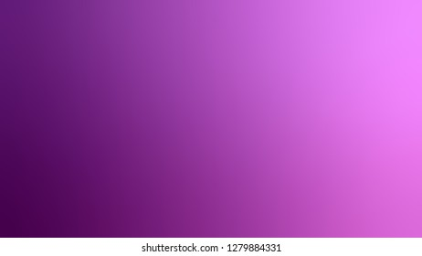 Gradient with Fuchsia, Violet, Palatinate Purple color. Chaos of color and hue. Background with defocused image. Template for the header on the cover of magazine or book.