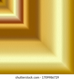 Gradient geometric luxury background with golden effect
