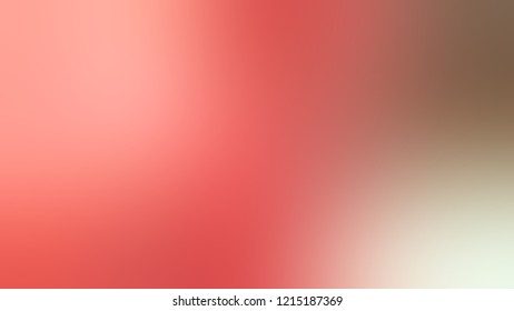 Gradient with Geraldine, Red, Quicksand, Brown, Contessa, Pink color. Simple smeared background for websites and mobile apps.