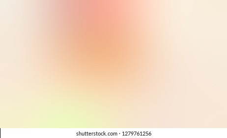 Gradient with Gin Fizz, Brown, Mandys Pink color. Ambiguous and foggy blurred backdrop with smooth color degradation. Template and wallpaper to the screen of a telephone.