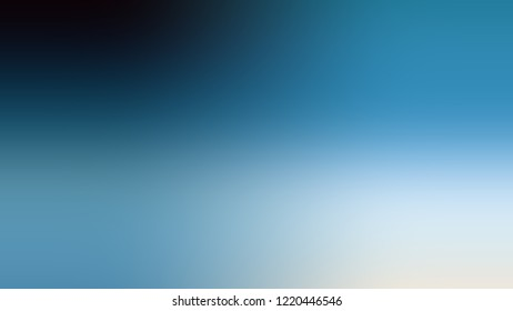 Gradient with Glacier, Blue, Matisse color. Classic simple defocused and blurred backdrop with the transition colors for advertising.