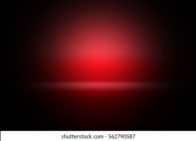 Gradient glow red for image processing