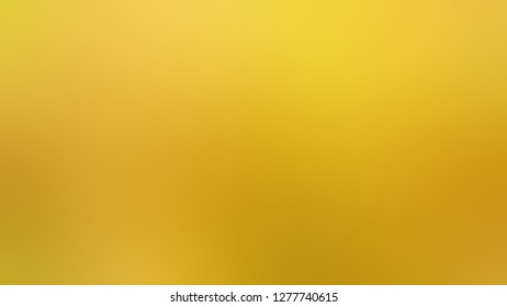 Gradient with Gold Tips, Yellow color. Classic and contemporary blurred background without focus. Template with blank area for your text or advertising.