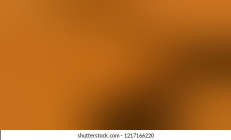 Gradient with Golden Brown color. Beautiful simple smeared background for websites and mobile apps.