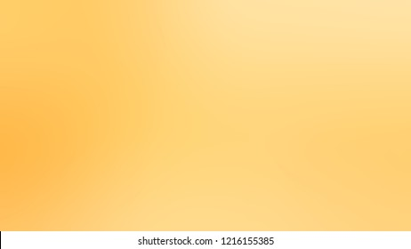 Gradient with Golden Glow, Yellow, Grandis color. A very simple abstract background for web or presentation.