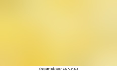 Gradient with Golden Sand, Yellow, Flax color. Beautiful simple smeared background for websites and mobile apps.