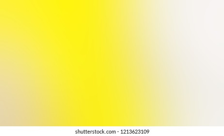 Gradient with Gorse Yellow Barley White Hint Of Red Gray color. Modern texture background, degrading fragments, smooth shape transition and changing shade.
