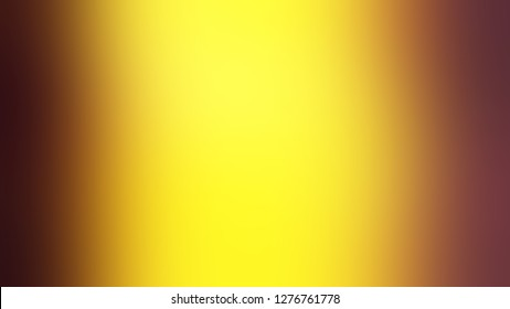 Gradient with Gorse, Yellow, Caput Mortuum, Brown color. Very simple and modern blurred background with abstract style. Template for website or page.