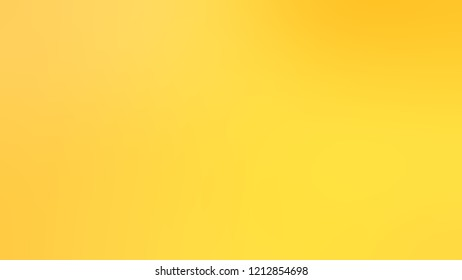 Gradient with Gorse Yellow Kournikova Sunglow color. Modern texture background, degrading fragments, smooth shape transition and changing shade.
