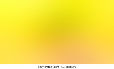 Gradient with Gorse, Yellow, Paris Daisy color. Gaussian drawing as a work of art. Background. Template for magazine or scrapbook cover.