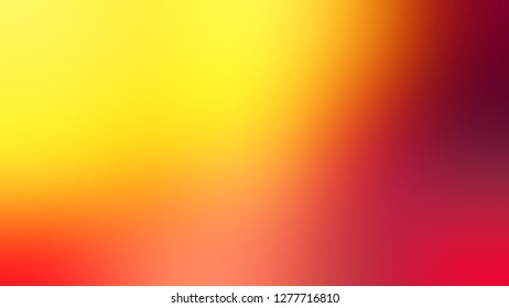 Gradient with Gorse, Yellow, Pizazz, Orange color. Very simple and modern blurred background with abstract style. Template and wallpaper to the screen of a mobile.