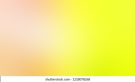 Gradient with Gorse, Yellow, Sazerac, Brown color. Clean and appealing blurred background with smooth color transition.