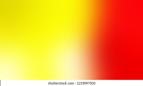 Gradient with Gorse, Yellow, Scarlet, Red color. Classic and awesome blurred background for web and mobile apps.