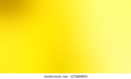 Gradient with Gorse, Yellow, Witch Haze color. Gaussian drawing as a work of art. Background without focus. Template and wallpaper on the desktop PC or laptop.