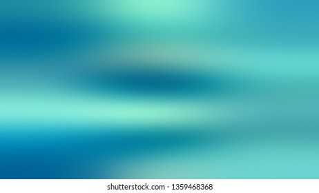 Gradient with Green, Blue, Light color. Bizarre and bitmap blurred background with defocused image. The basis for creating a banner or cover.